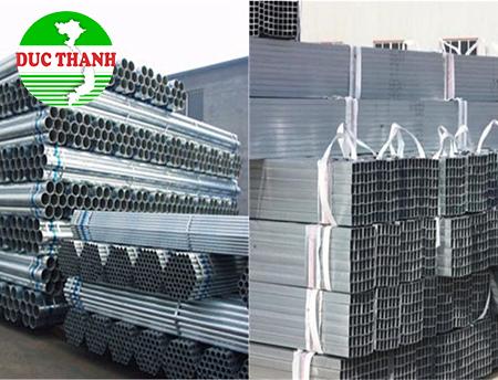 Thép ống hộp đen, mạ kẽm(Hòa Phát, Nam Kim, Nam Hưng, Nguyễn Minh, Seah, Hoa Sen, ...).